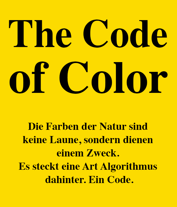 Code Of Color Intro 01 De